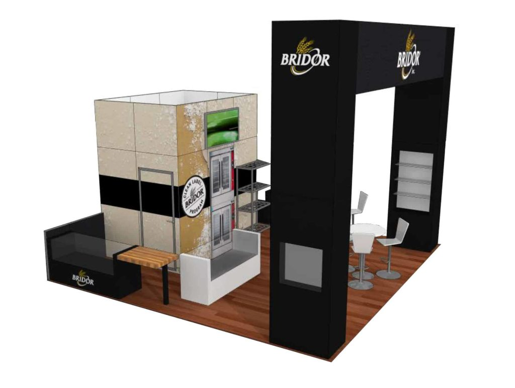 20x20 trade show rental