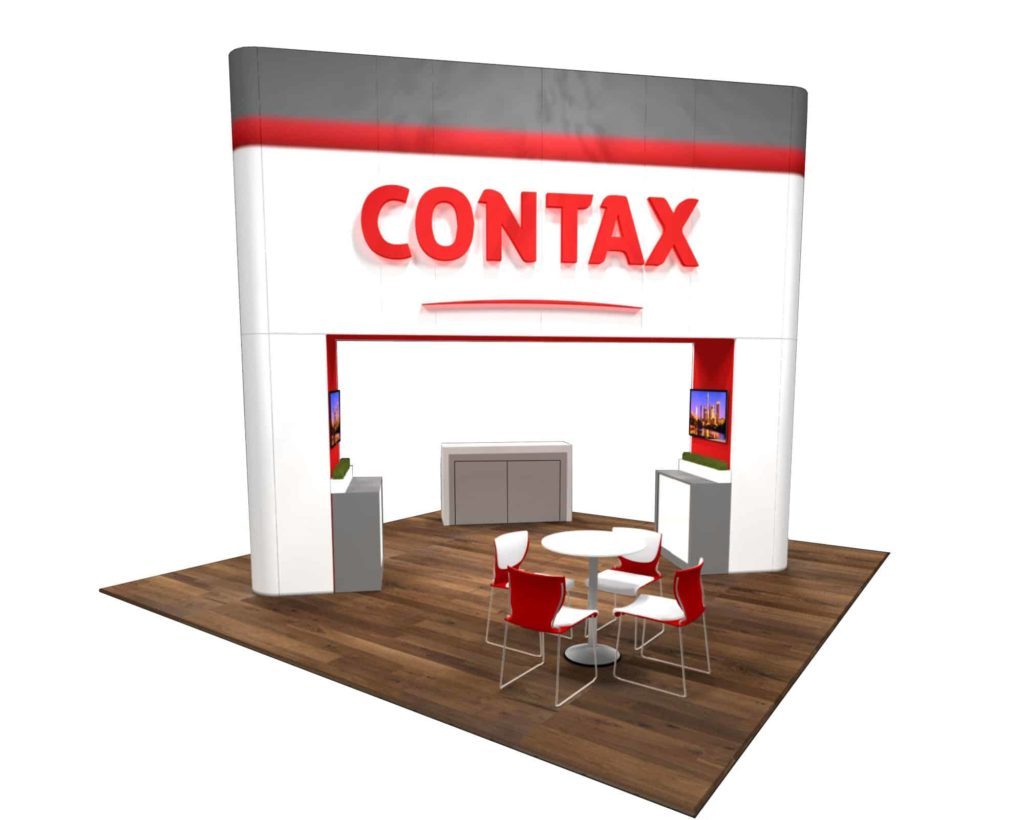 20x20 trade show booth rental