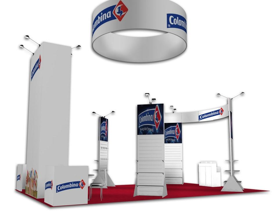 20x30 exhibit rental