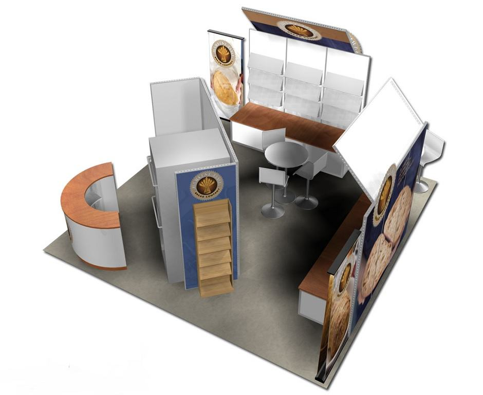 trade show 20x20 rental exhibit