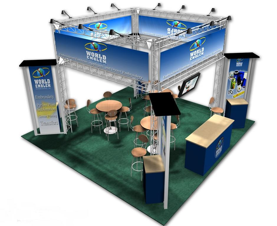 trade show 20x20 rental booth