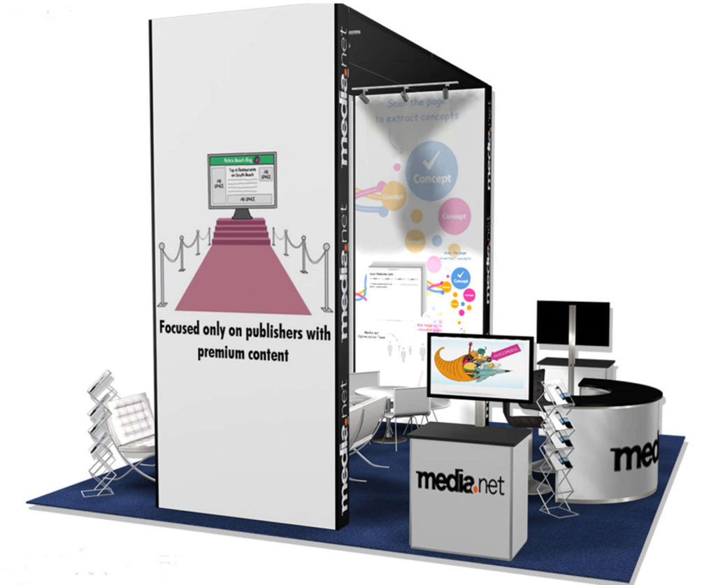 trade show 20x20 exhibit rental