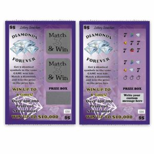 trade show game scratch off