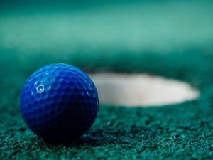 golf trade show game idea