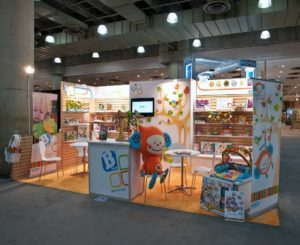 store front retail trade show booth design